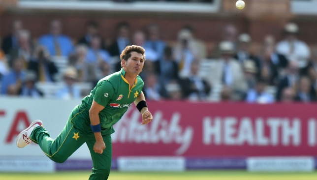 A chance for Yasir to stake his World Cup claim.
