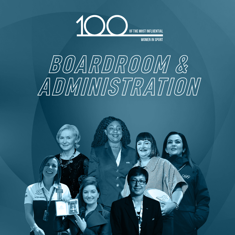 100 of the Most Influential Women in Sport Boardroom & Administration