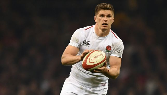 Owen Farrell is set for his first start in the warm-up games.