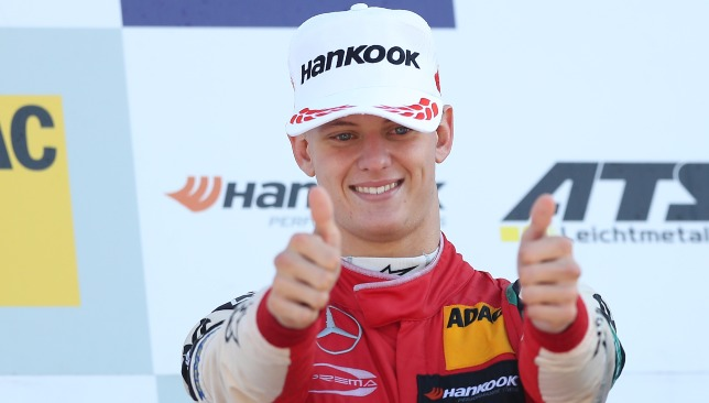 Mick Schumacher is following in dad Michael's footsteps.