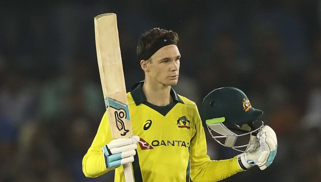 A maiden ODI century for Peter Handscomb.