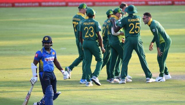 A sorry effort by Sri Lanka's batsmen at Centurion.