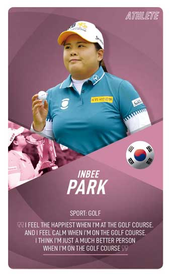 special profile card Athletes33