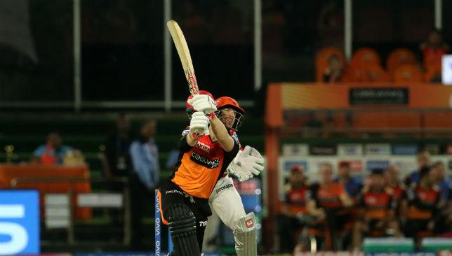 David Warner has played his final IPL 2019 innings.