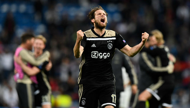 Daley Blind has been one of the unsung heroes for Ajax.
