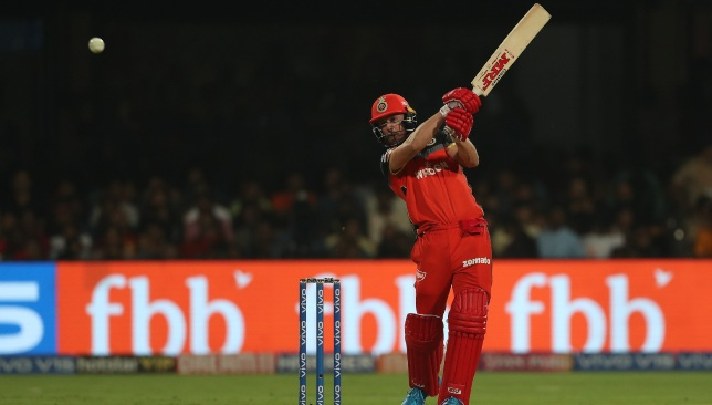AB de Villiers in action for RCB in IPL 2019. Image - BCCI/SPORTZPICS.