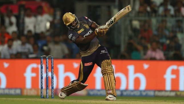 Andre Russell was sensational for KKR. Image - @IPL/Twitter.