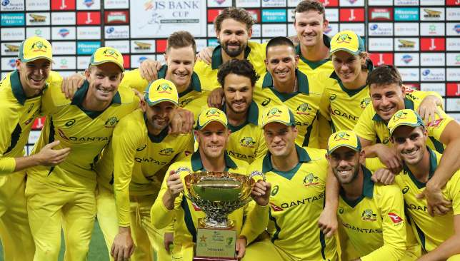 Australia are currently on an eight-match winning streak.