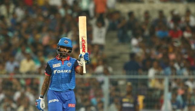 Shikhar Dhawan. Image - @IPL/Twitter.