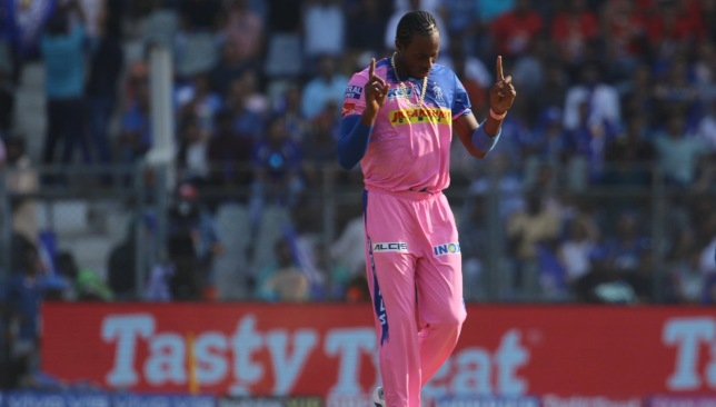 Jofra Archer had a great IPL. Image: Rajasthan Royals/Twitter.