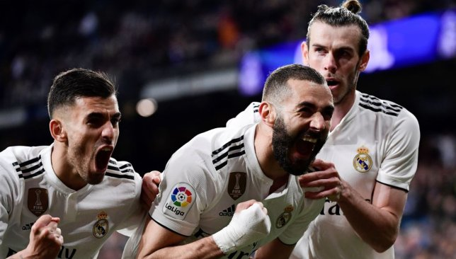 Benzema hit a fine 89th-minute winner.