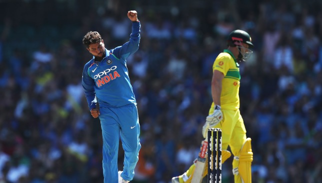 Kuldeep has picked 87 wickets in just 44 ODIs for India so far.