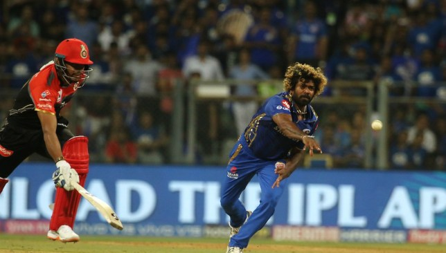 An excellent comeback from Malinga. Image - @IPL/Twitter.