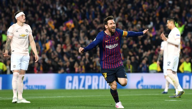 Lionel Messi could score his 600th goal for the club