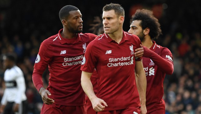 f2792cbaef73 Liverpool stalwart James Milner admits winning the Premier League is ...