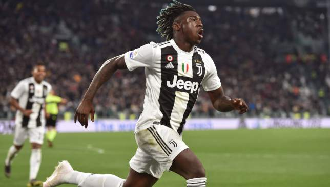 Moise Kean came to Juventus' rescue yet again.