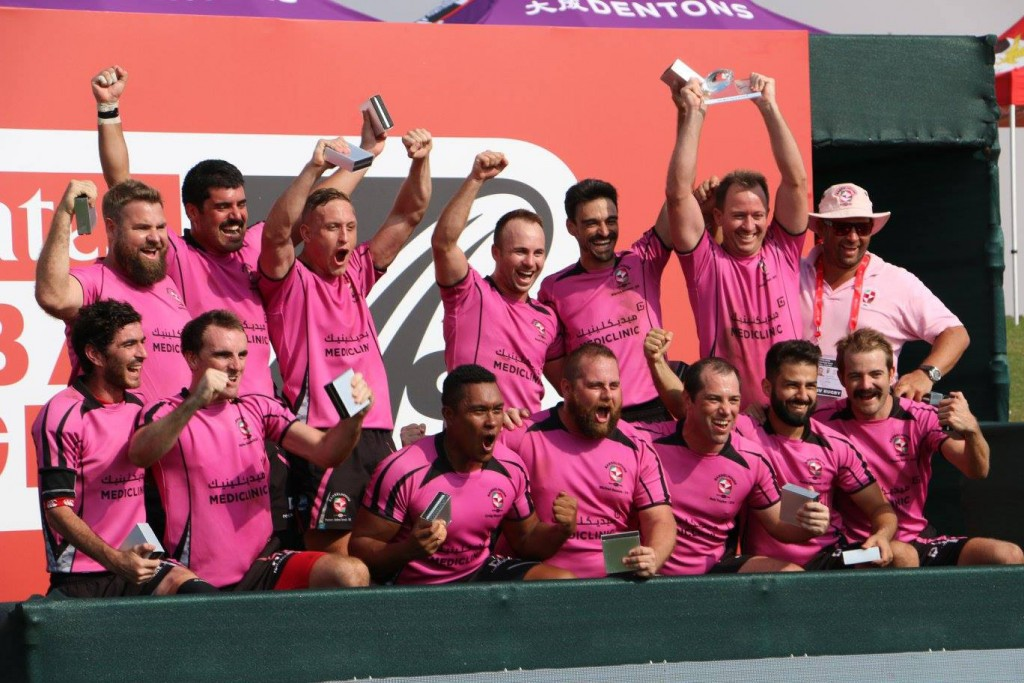 Winners: The club won the AGRFU competition and the Gulf Men's Social and the Vets division