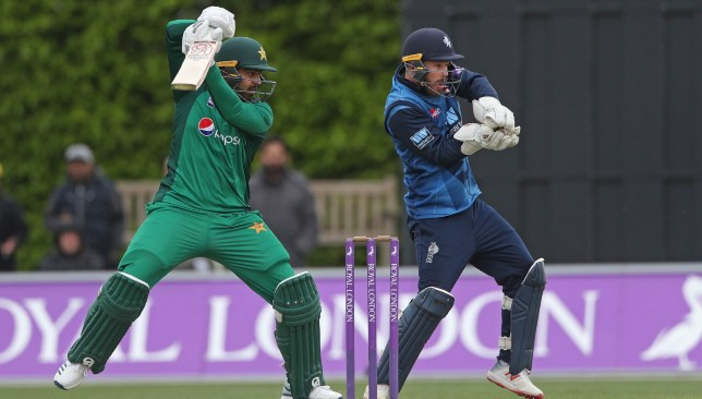 Haris Sohail chipped in with a 75-run knock.