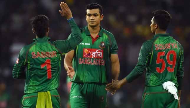 Taskin Ahmed is one of the standby players for the World Cup.
