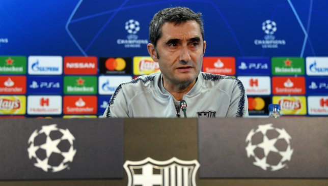 A Champions League title could shut up Valverde's critics for good.