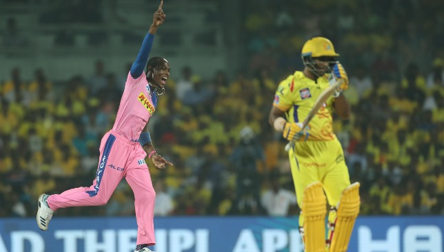 Archer was sensational against CSK. Image - BCCI/SPORTZPICS.