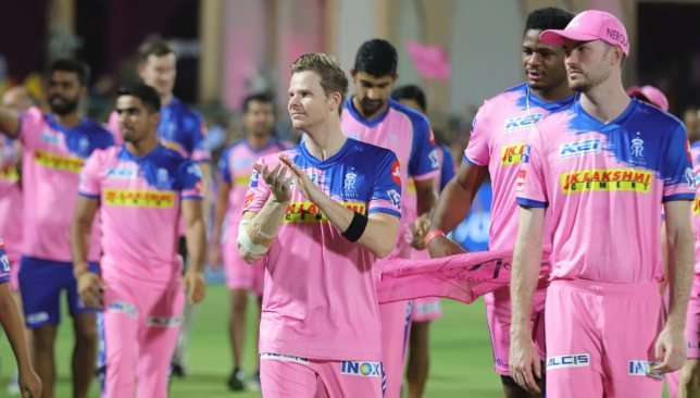 Smith's final outing. Image - @rajasthanroyals/Twitter.