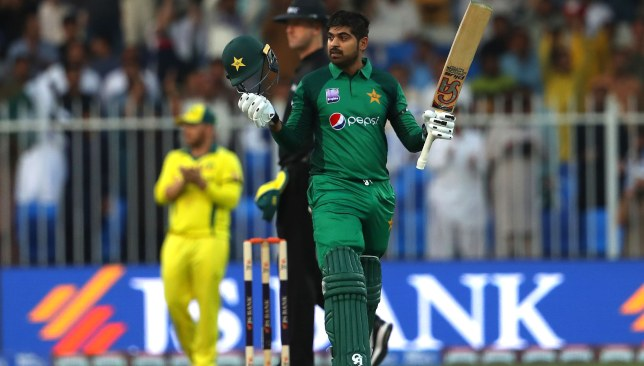 Two centuries from Haris Sohail in the five-match series.
