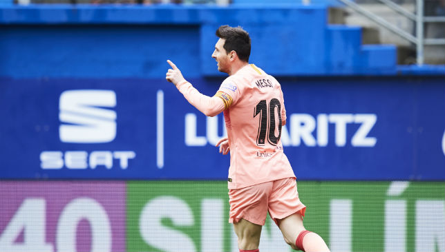 Lionel Messi ensured Barcelona's season didn't end in defeat.