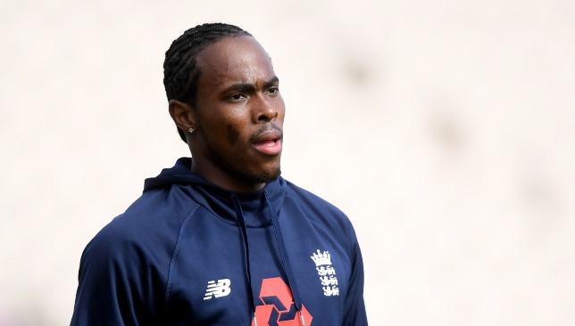 Archer has been named in England's World Cup squad.