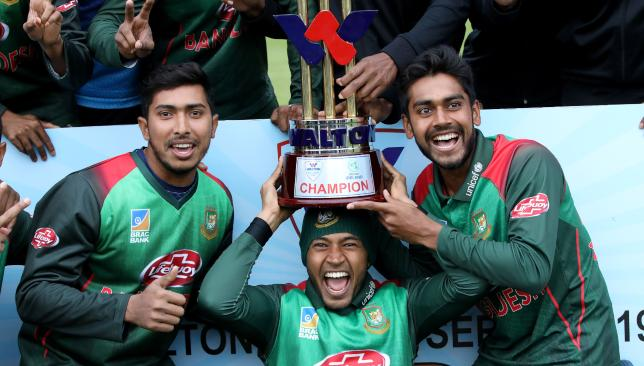 Bangladesh are fresh off their ODI tri-series win in Ireland.