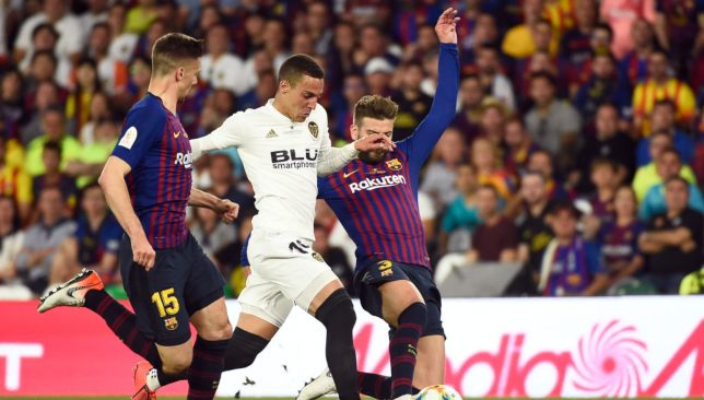 4ed580cba First half goals from Kevin Gameiro and Rodrigo Moreno were rough to give  Valencia a thrilling Copa del Rey final victory over Barcelona on Saturday  night.