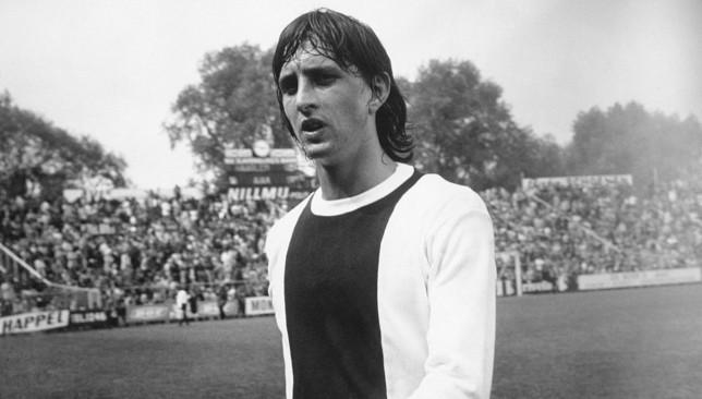 Johan Cruyff in 1971/72