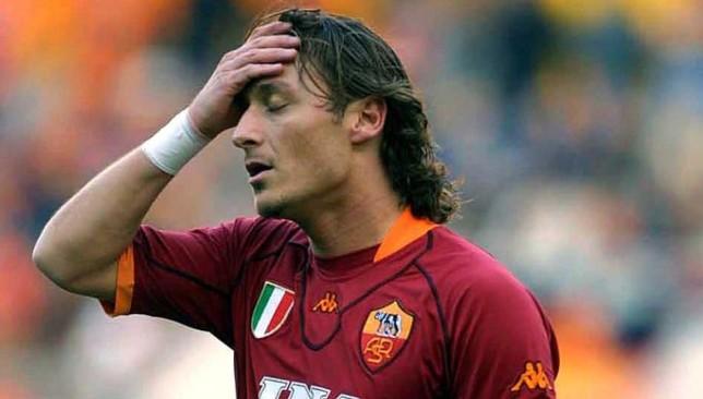 Francesco Totti in 2001