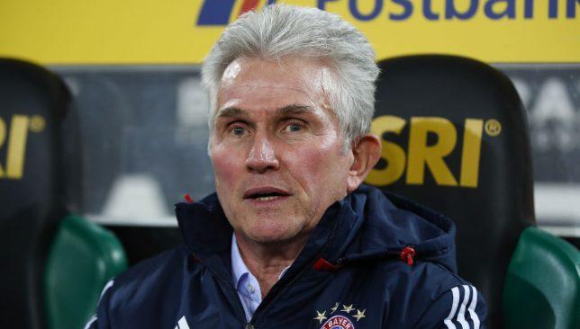 Former Bayern boss Jupp Heynckes
