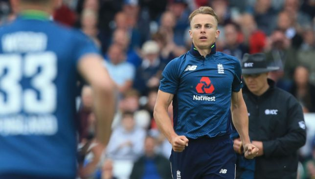 England's Tom Curran