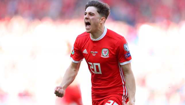 James scored the winner on his first Wales start in their Euro 2020 qualifier against Slovakia in March.
