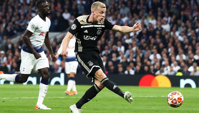 Image result for Real Madrid want to sign Van de Beek
