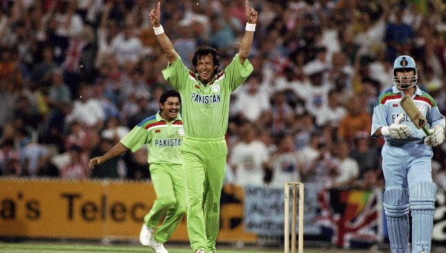 Pakistan won the 1992 World Cup despite a poor first half.