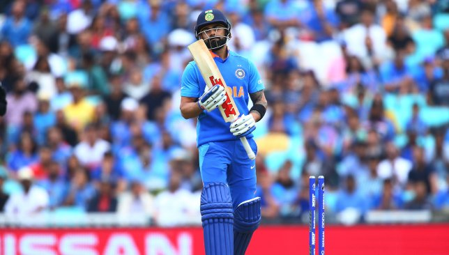 Kohli and India's batsmen fail the swing test.