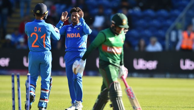 Kuldeep is back to bamboozling batsmen.