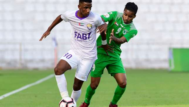 Mohammed Khalfan has emerged as a fine prospect for Al Ain.