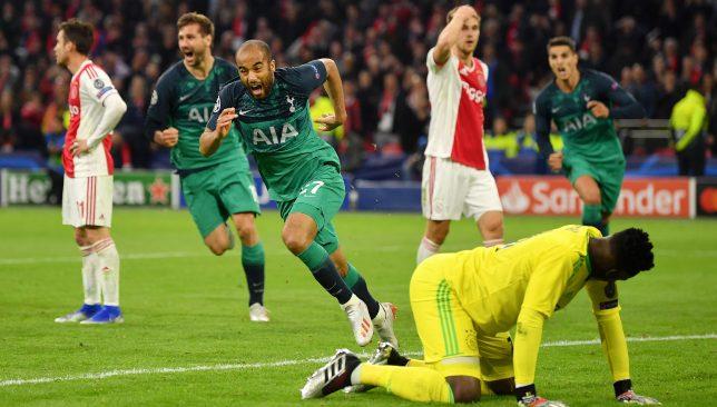 Moura's hat-trick sealed Tottenham's comeback win.