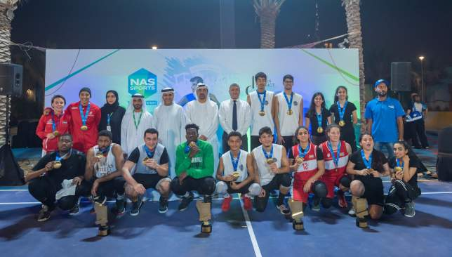 The Big 3 and Sharjah Women Team A triumph in NAS 3×3 Basketball