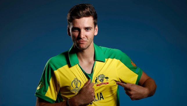 Richardson had earlier been named in Australia's World Cup squad.