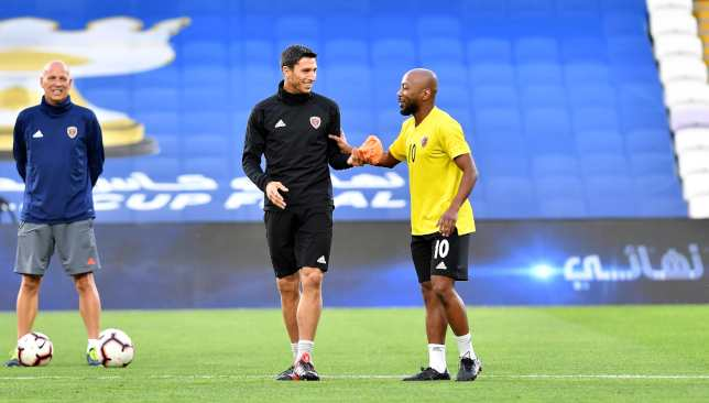 Sebastian Tagliabue had been hoping to link up with Wahda colleague Ismail Matar for the Asian Cup.