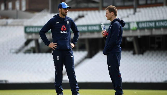 Vince (l) could feature for England on Tuesday.