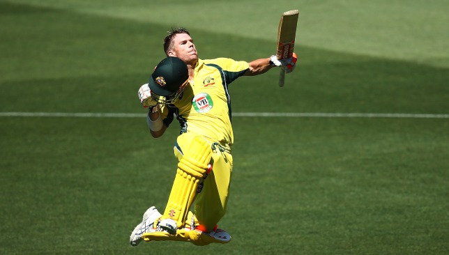 Warner is a man possessed at the moment.