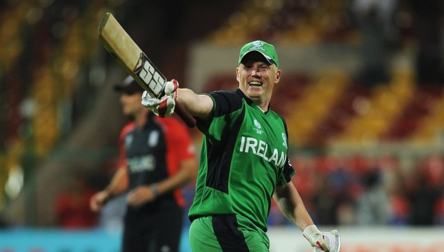 Kevin O'Brien's 50-ball ton paved the way for a sensational win.