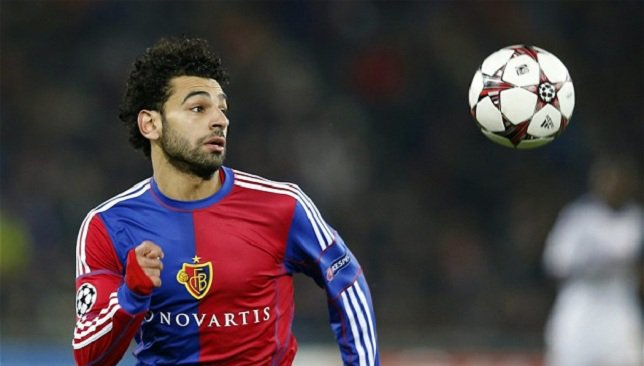 Up and comer: Salah was picked up by FC Basel