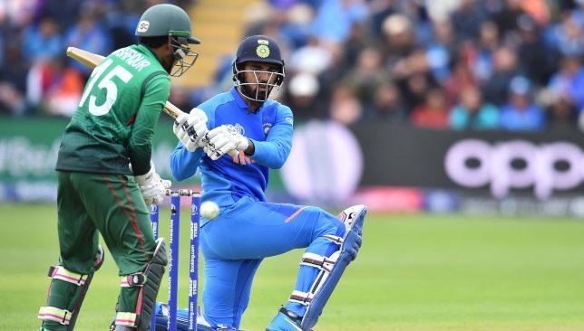 Superb batting by Rahul on a good pitch.
